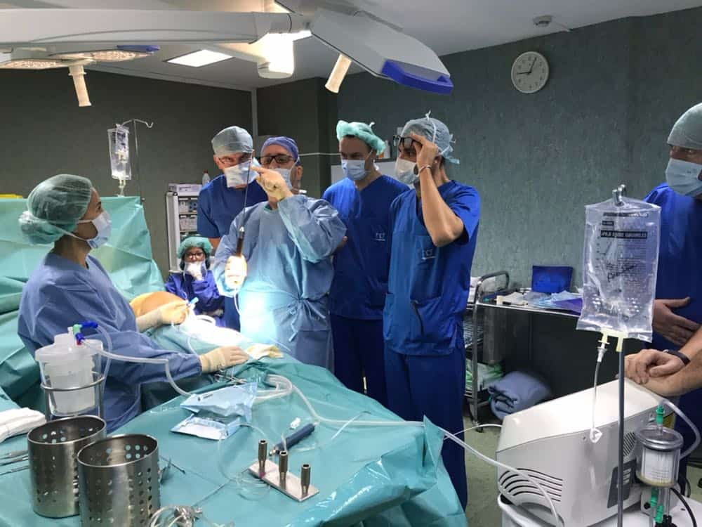 laser assisted liposuction procedure