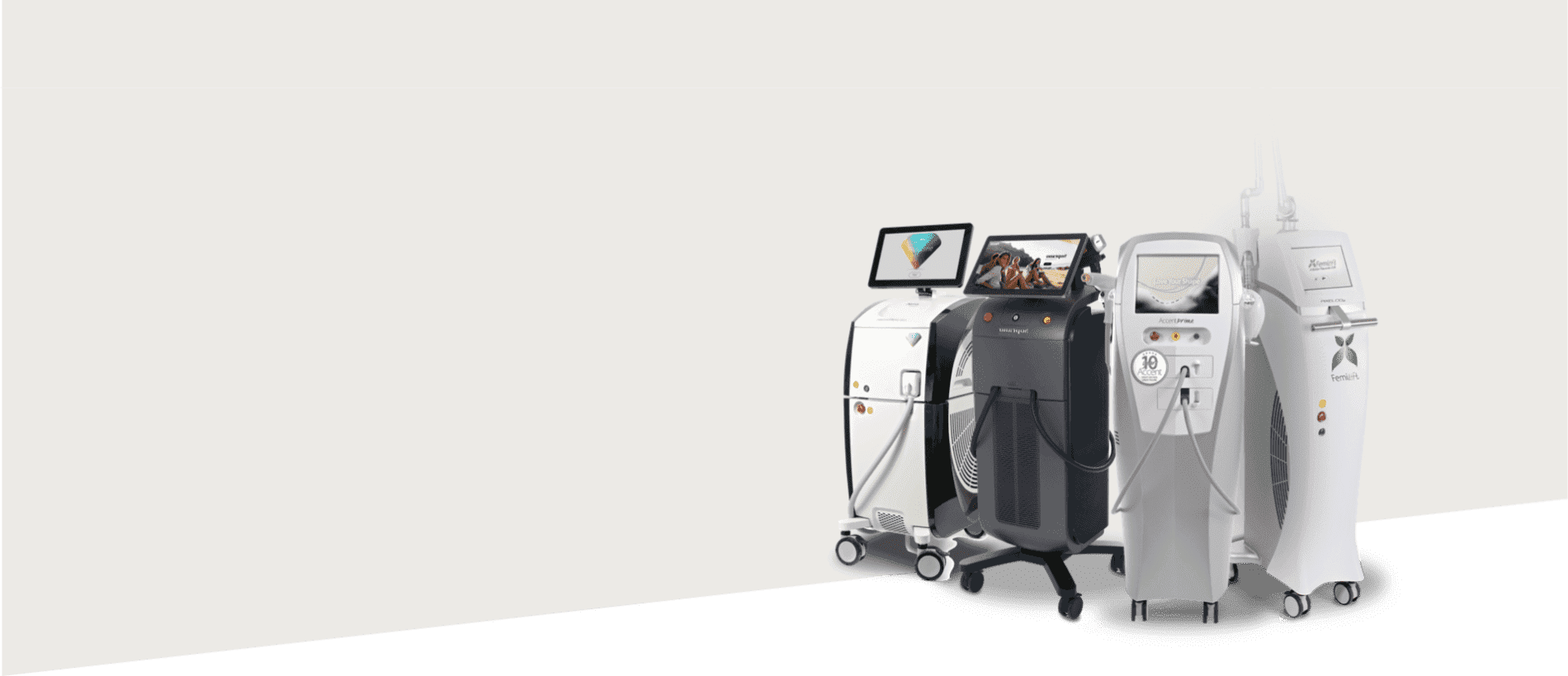 Aesthetic Laser products by Alma Lasers