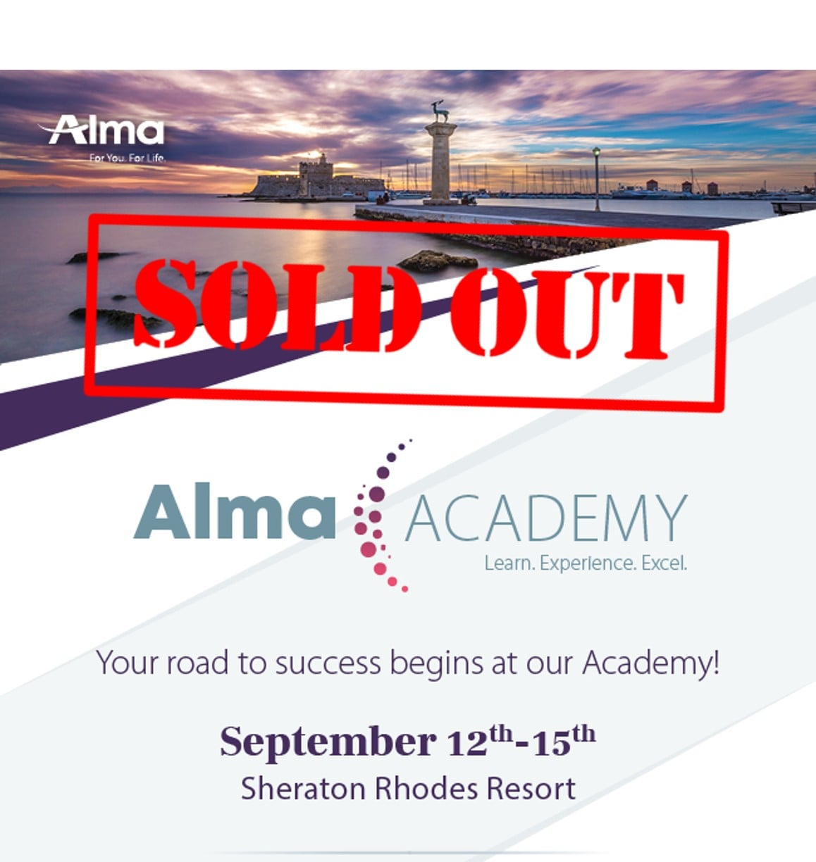Alma Academy Sold Out